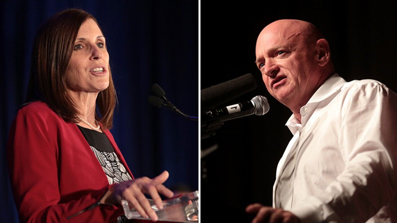 Martha McSally challenges Mark Kelly to seven debates before November election