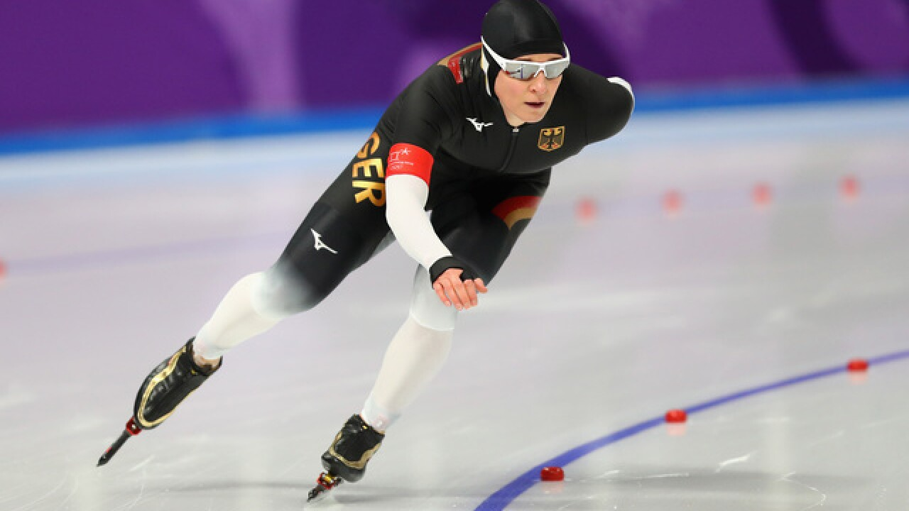 45-year-old German speedskater still dominating