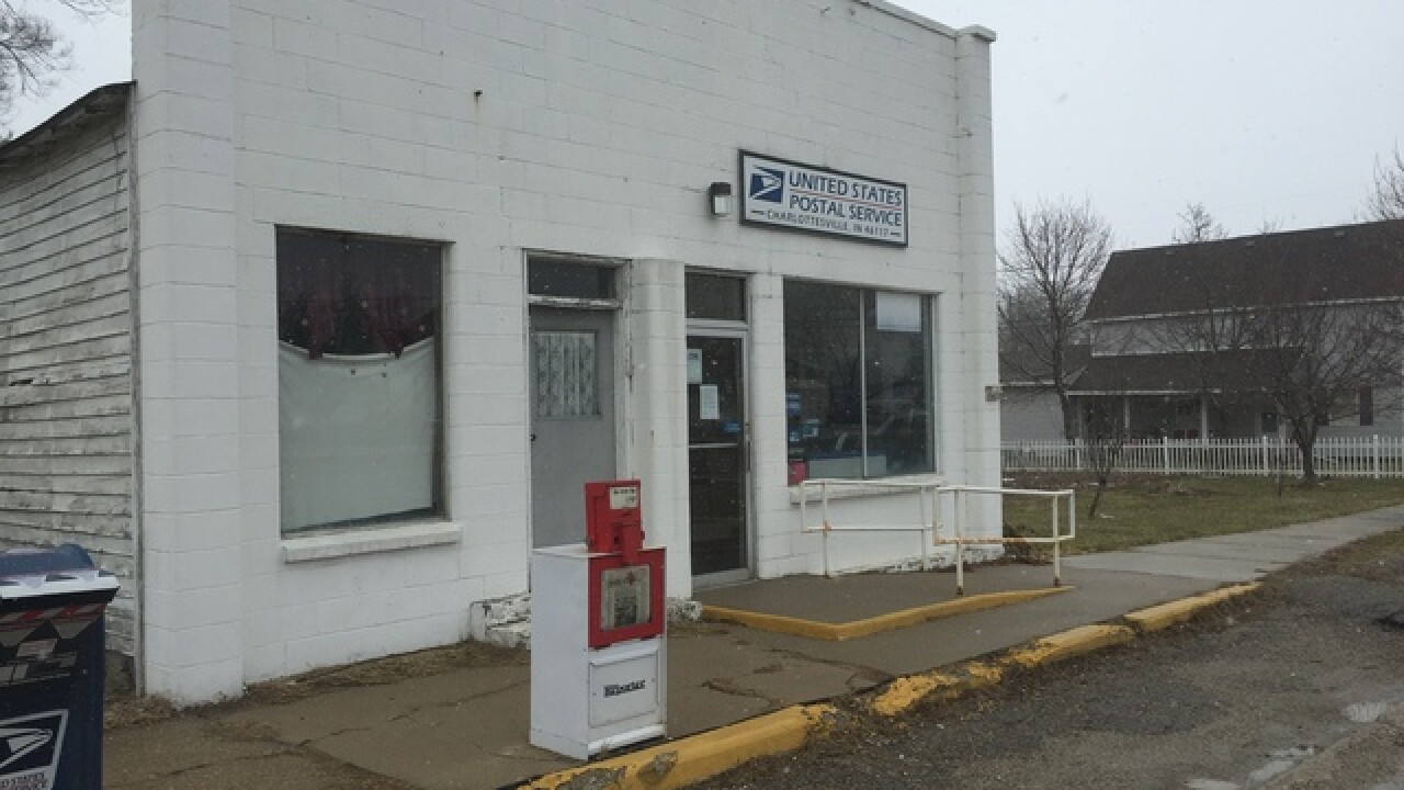Small town post office suddenly shut down