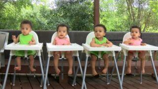 'Surprise' quadruplets born at Waco hospital turn 1 year old