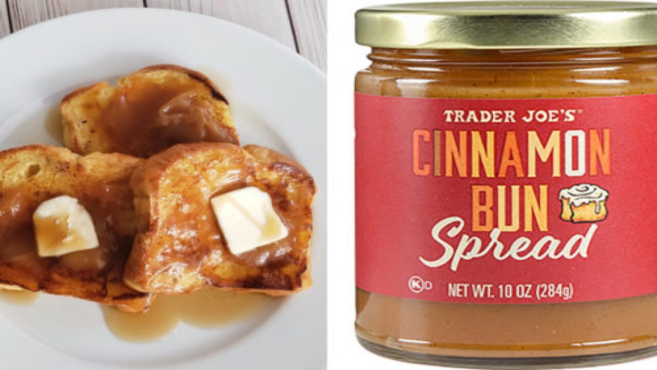 You'll Want To Slather This New Cinnamon Bun Spread On Everything