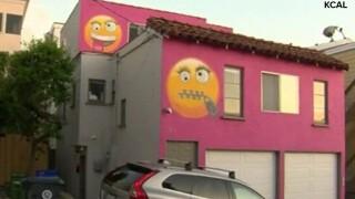KCAL Emoji house