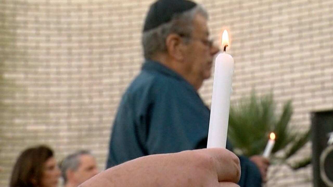 Community shows unity after synagogue shooting