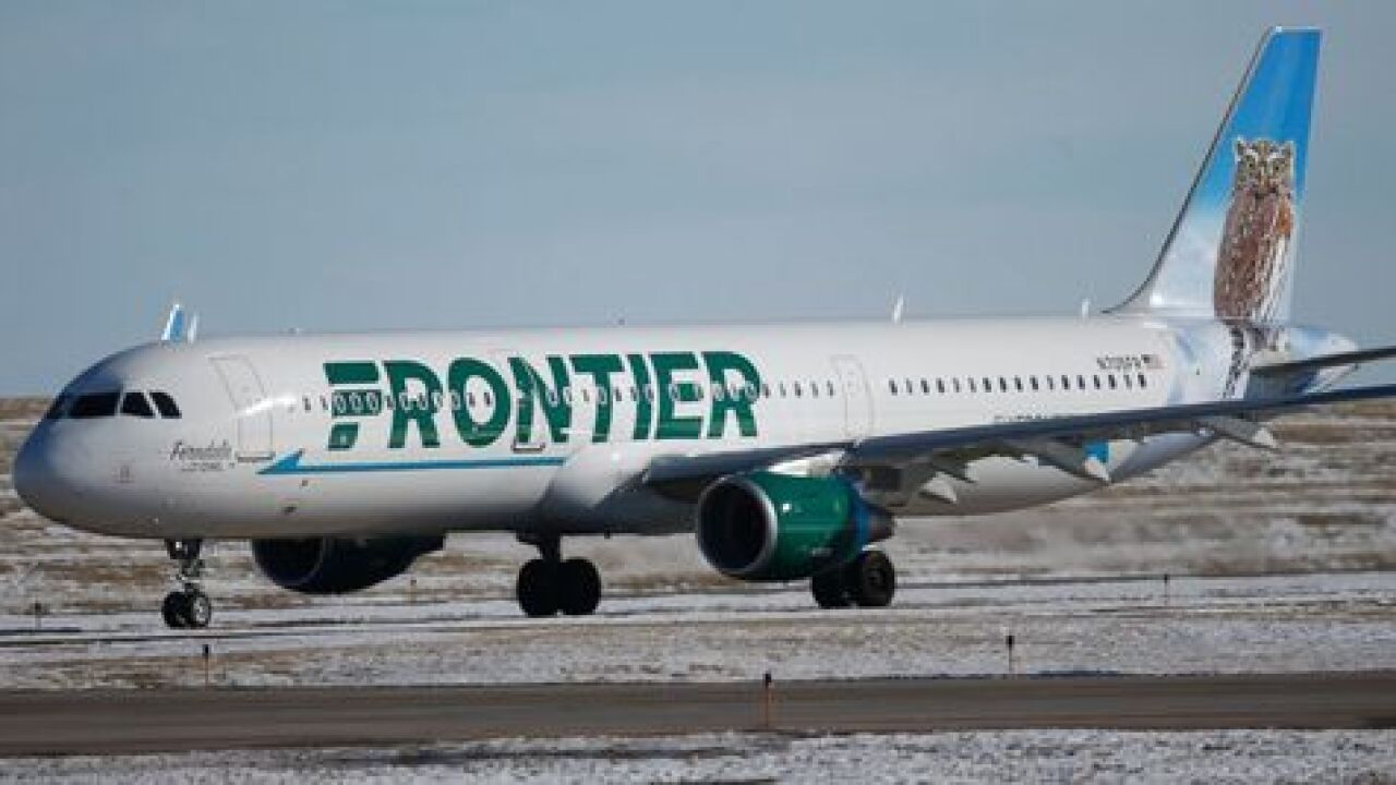 Frontier Airlines launching service from Buffalo