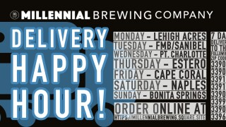 Millennial Brewing Co. Delivery Happy Hour