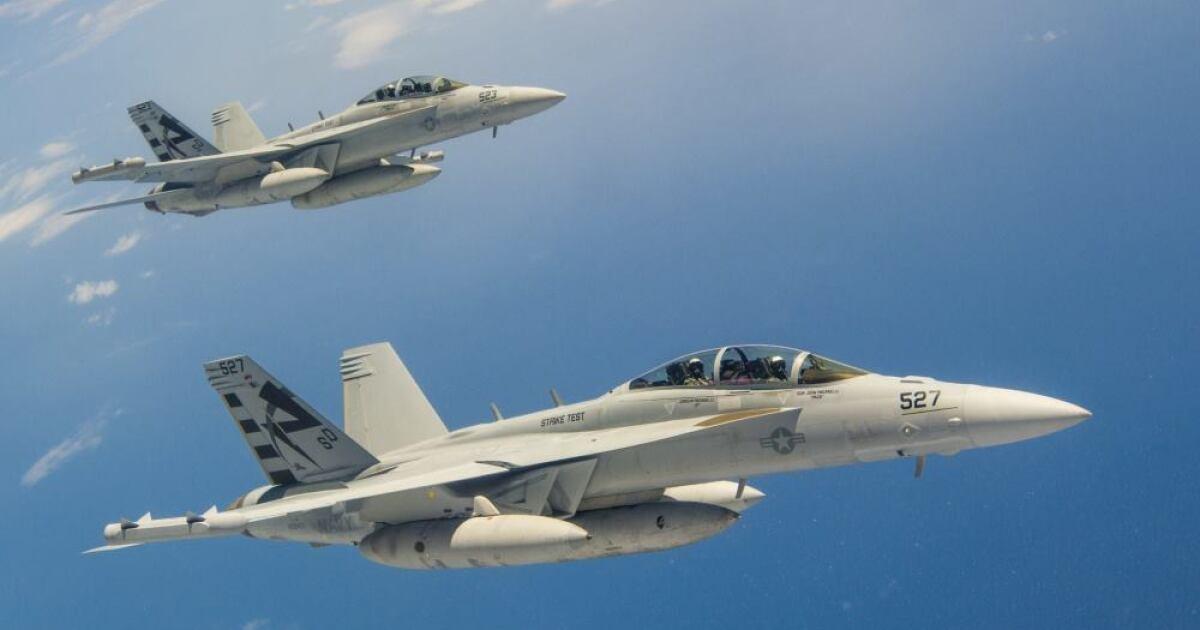 Idaho Air National Guard hosting F-18s