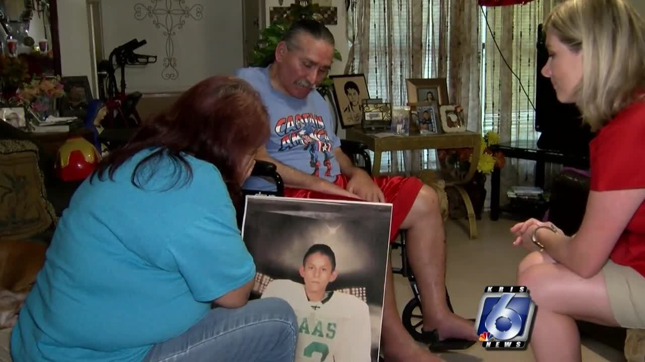 The grandparents of Alex Torres describe their memories of the night of his shooting.