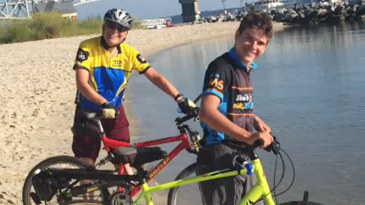 13-year-old bicycles across U.S. with granddad