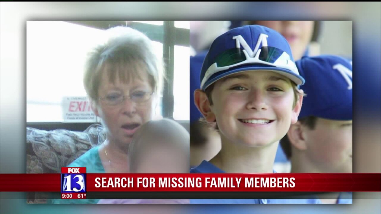 Utah woman and step-grandson missing in Grand Canyon NationalPark