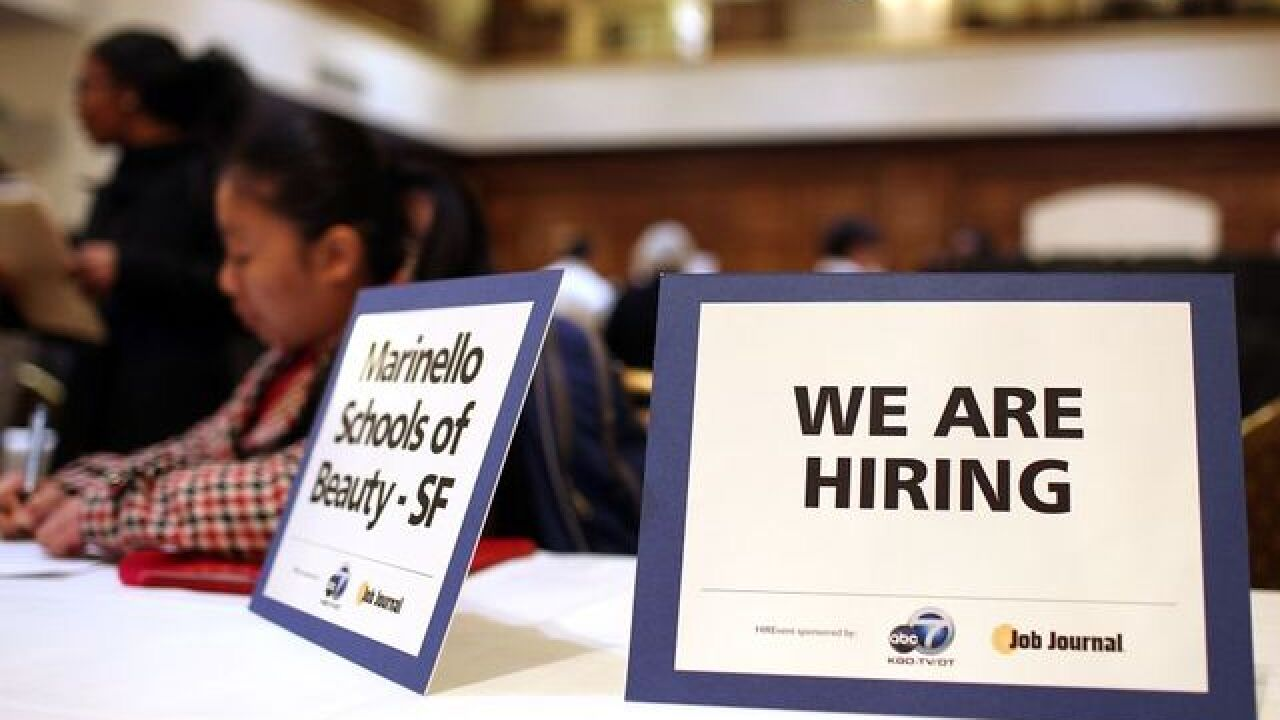 Latest unemployment report shows good sign