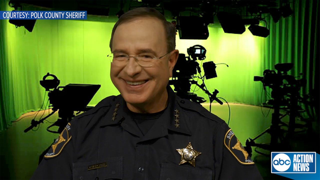 Need a good laugh? Check out this Sheriff Grady Judd blooper