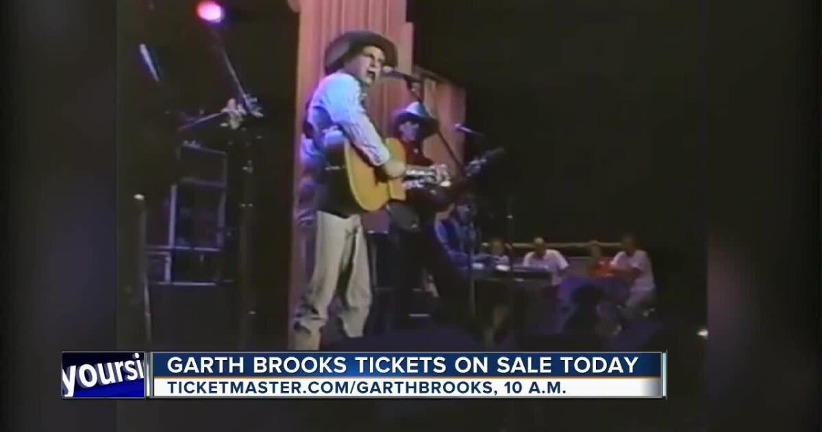 Garth Brooks tickets go on sale today