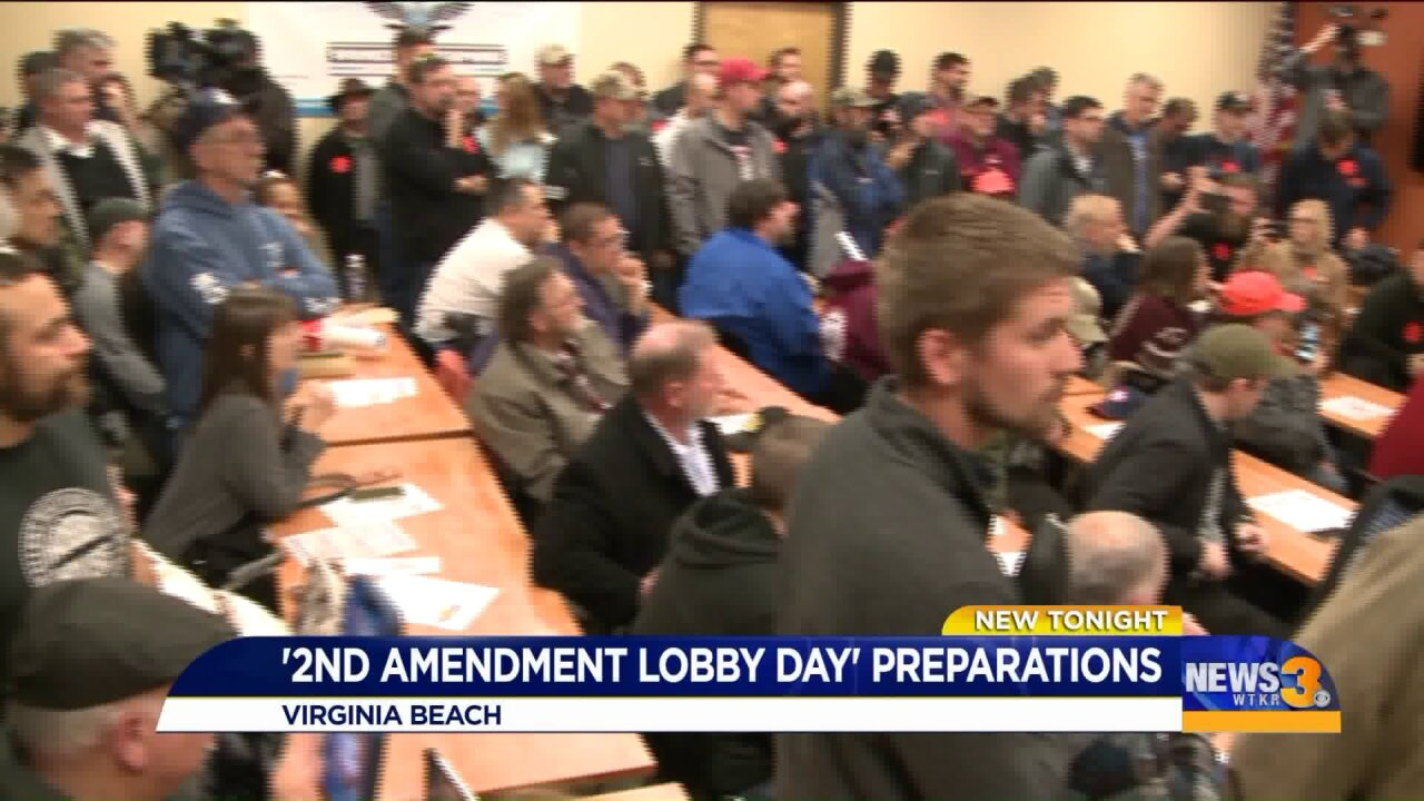 Final preparations made, attendees informed before heading to Capital Square on 'LobbyDay'