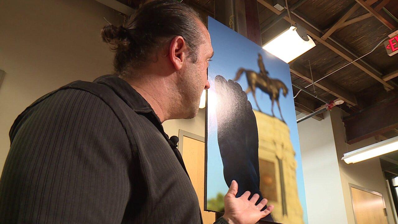 Veterans heal their emotional wounds at VCU Vet ArtShow