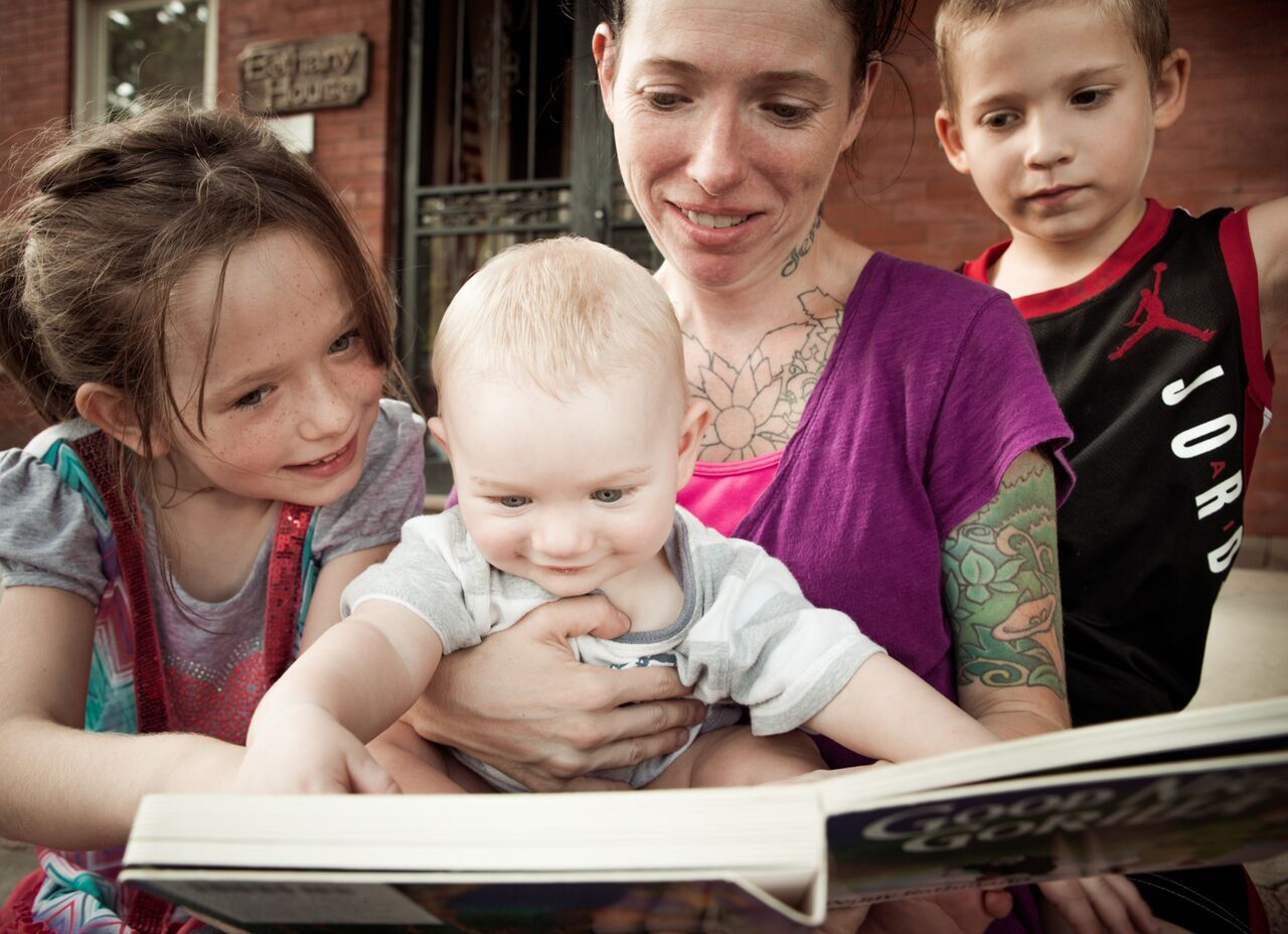 It's never too early to start reading to your children