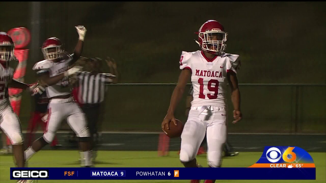 Matoaca upends Powhatan in overtime