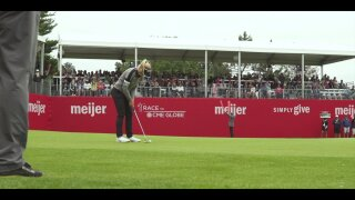 LPGA Meijer Classic putting green