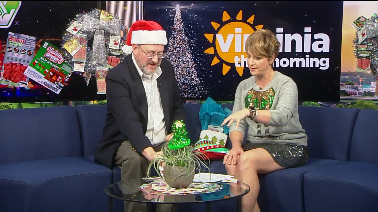 """The Virginia Lottery presents their """"Holiday Scratchers"""""""
