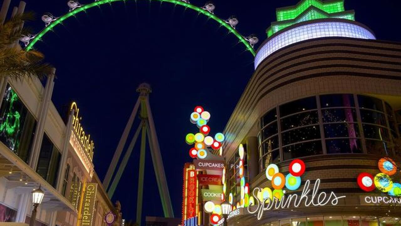 Las Vegas' High Roller on TripAdvisor's trending attractions for spring