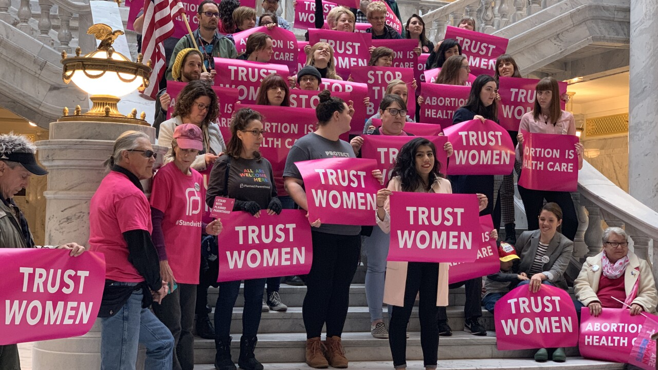 Lawsuit filed over Utah's 18-week abortion ban