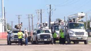 AEP responds to scattered power outages following Beta landfall