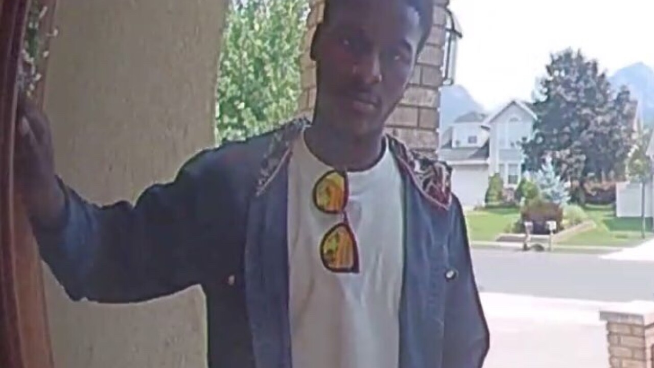 Sandy Police seek suspect in package theft