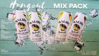 Malibu Is Now Making Sparkling Cocktails In Cans