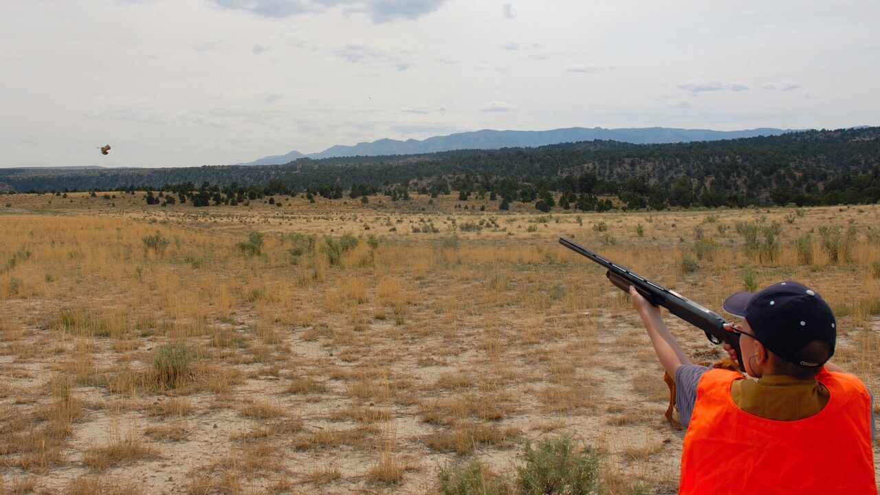Youth learn to hunt during Utah's Trial Hunting Program