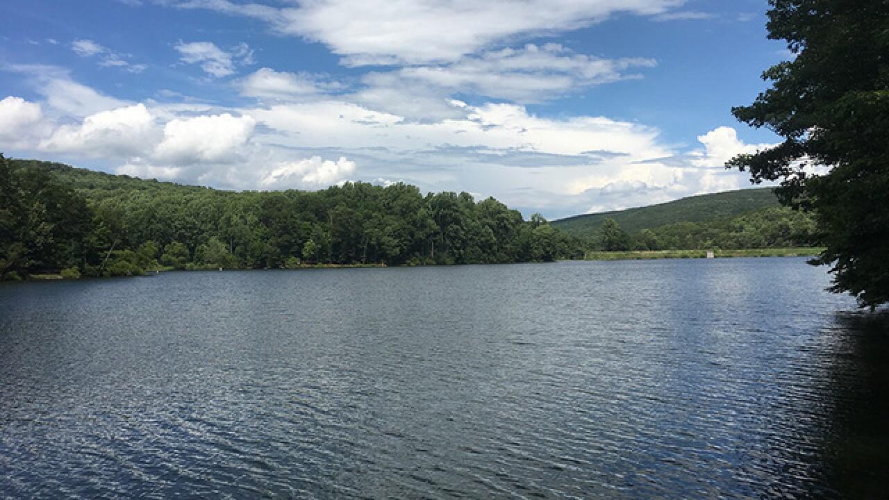 Falls, swimming and hiking at Cunningham Falls