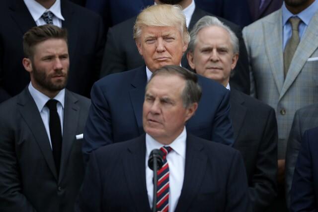 Photos mark Trump's first 100 days as president