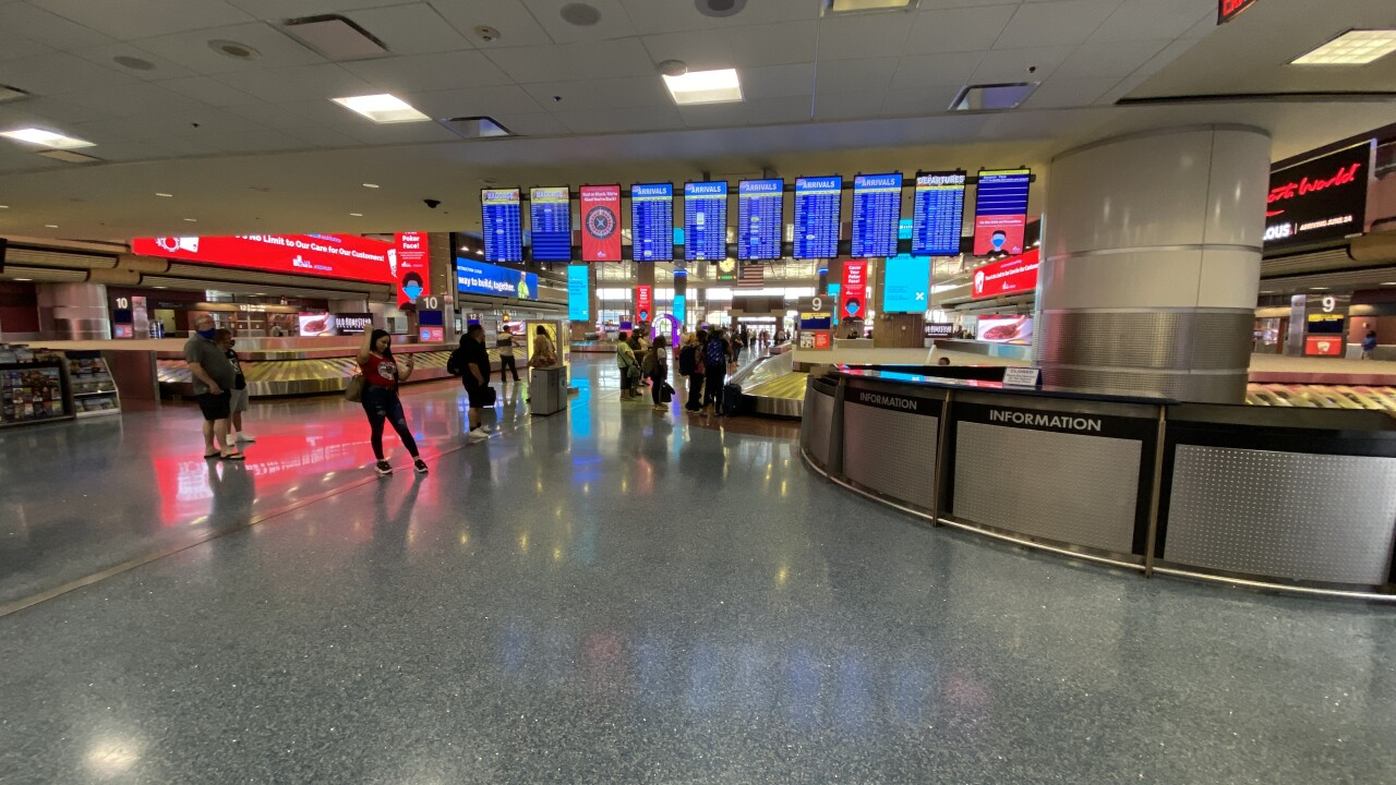 McCarran International Airport services Southern Nevada and was the ninth busiest by passenger volume in the United States as of 2019.