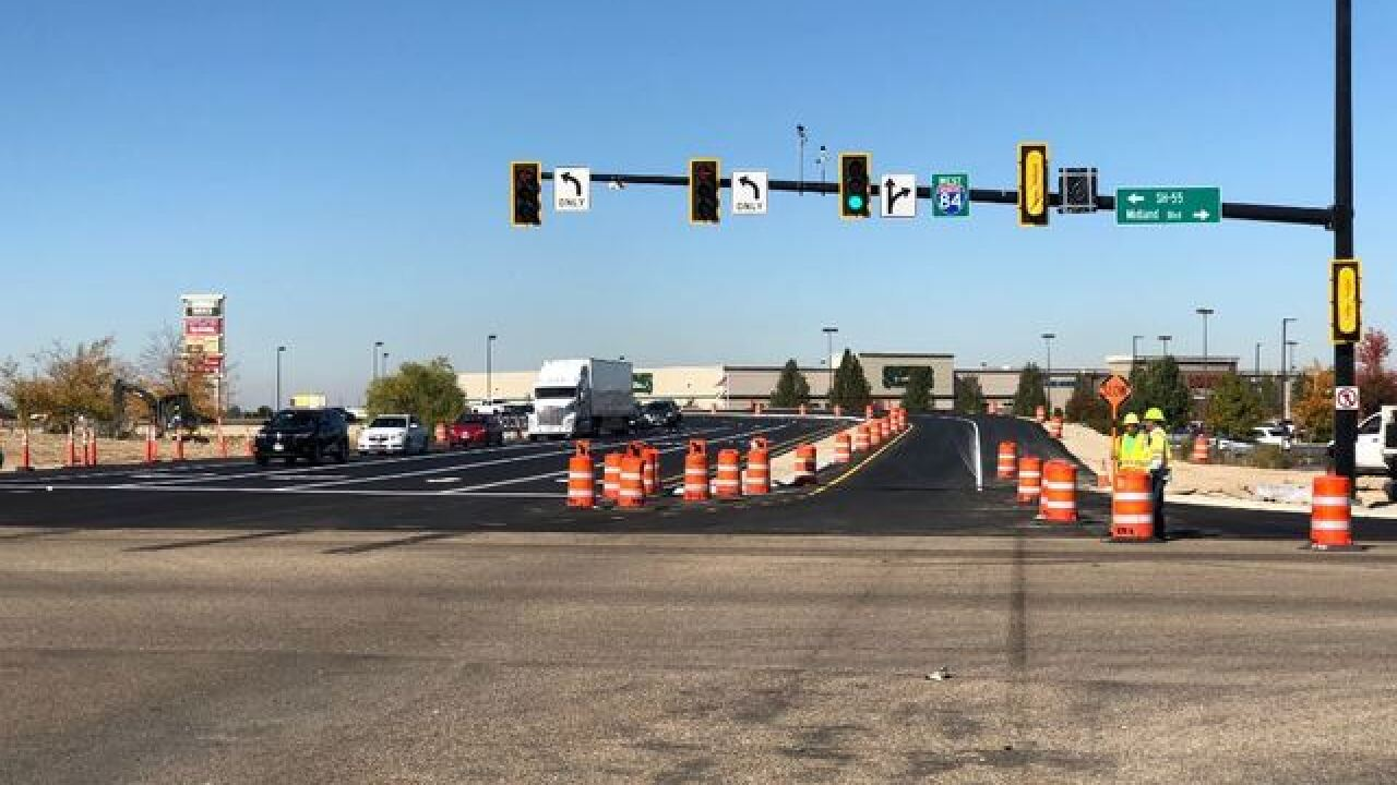 Crews to start work at Nampa's Karcher Interchange this week
