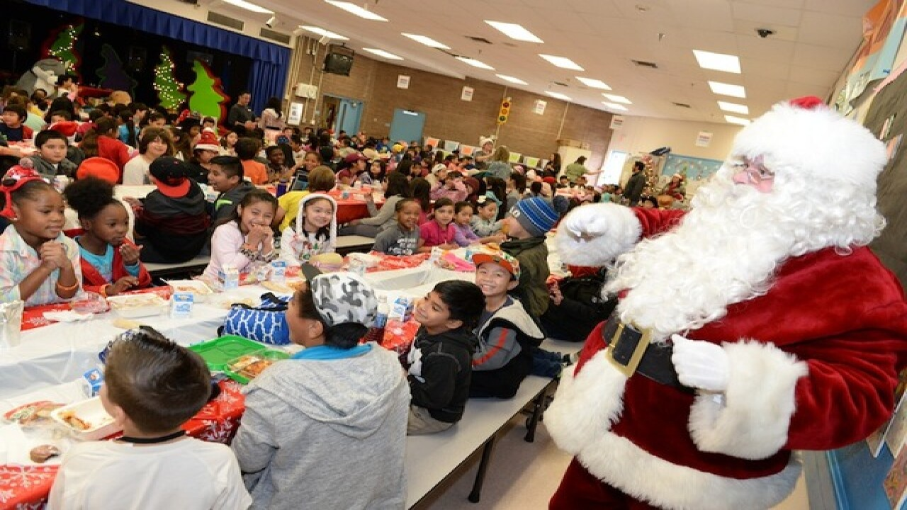 LVHA delivers 300 'bags of cheer' to school