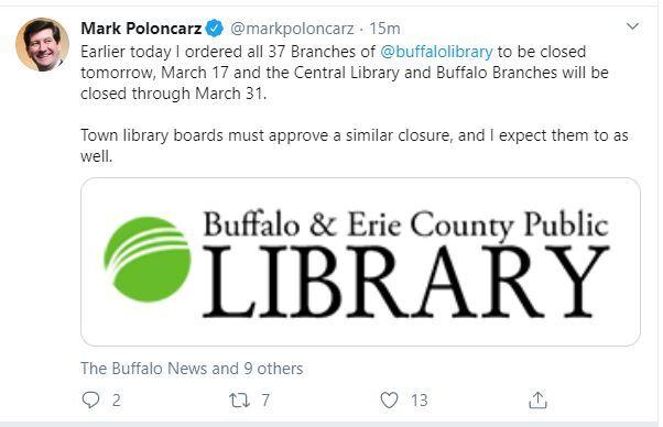 library tweet