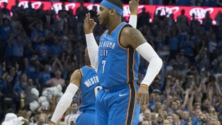 ESPN: Thunder, Carmelo Anthony to part ways