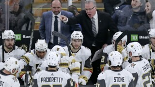 Golden Knights Bruins Hockey