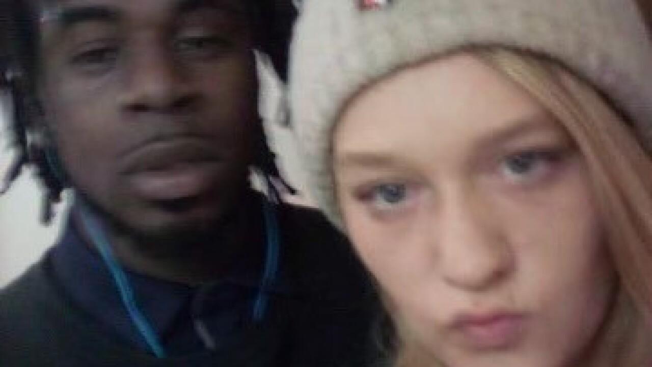 Ashlynn Lisby and her boyfriend Marcus Lewis