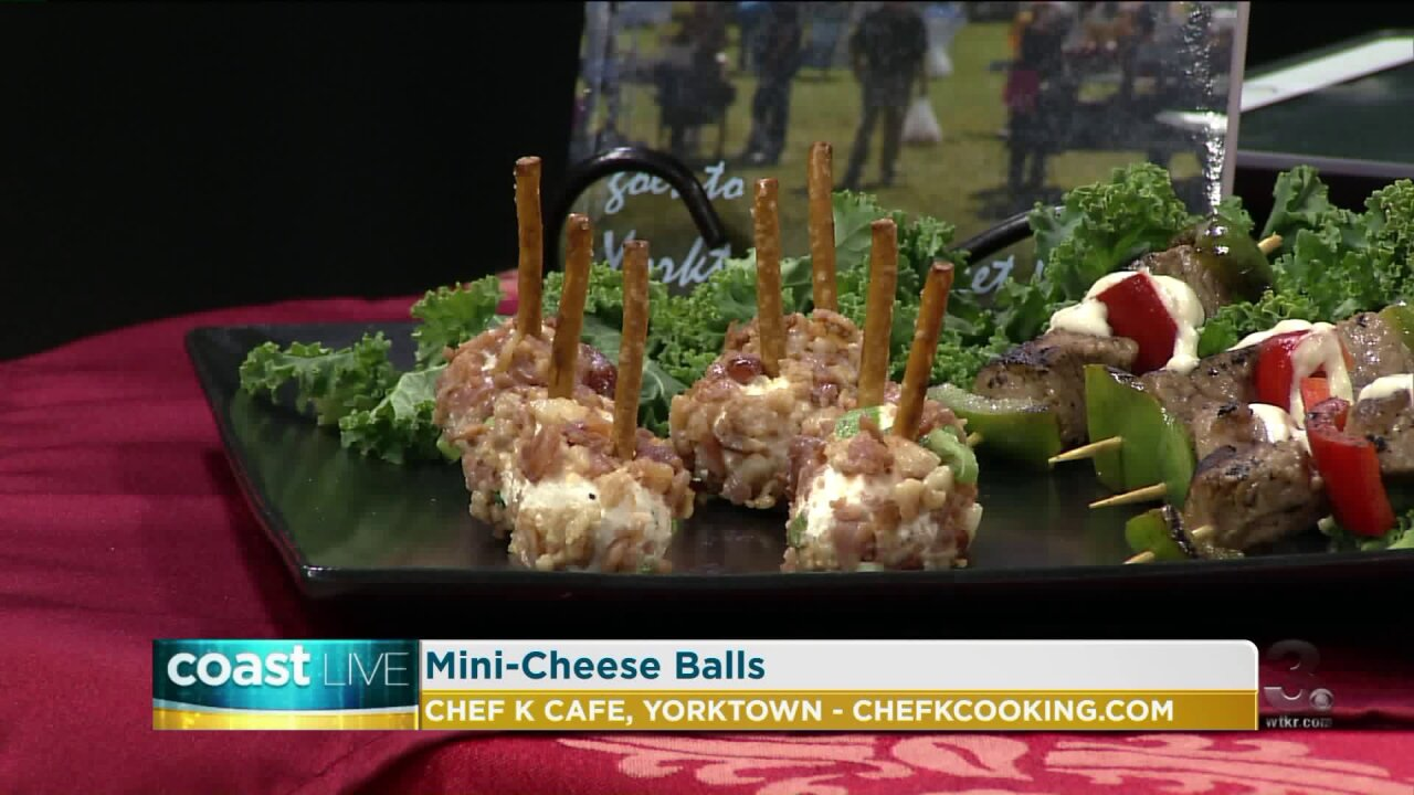 Holiday appetizers and festive drinks with Chef K on CoastLive