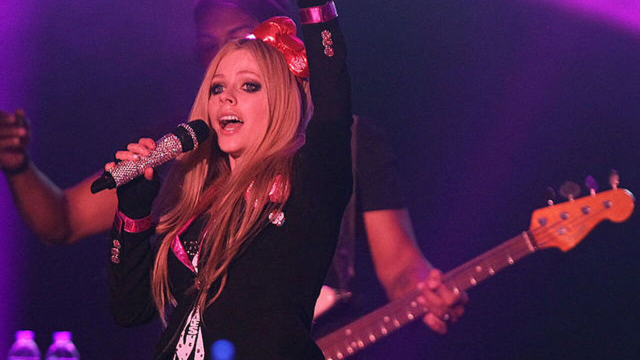 Avril Lavigne rated 'most dangerous celebrity' online; Bruno Mars ranked second