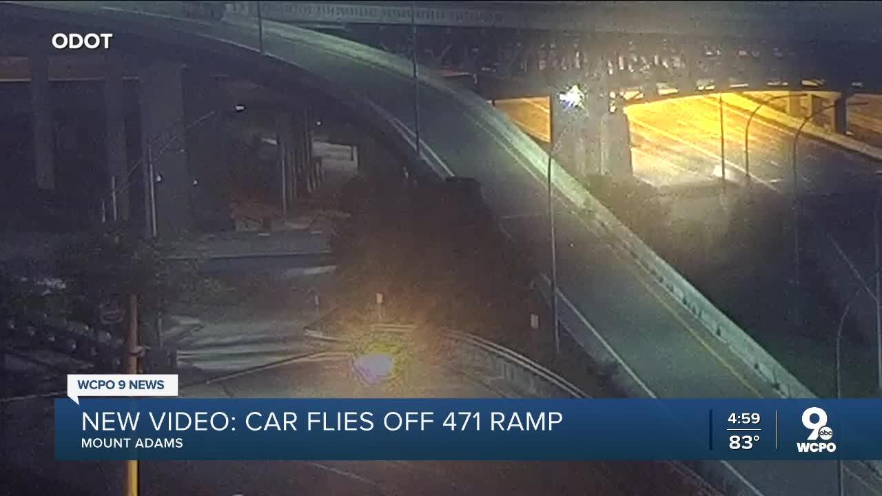 New video: Car flies off 471 Ramp