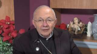 Bishop Deshotel offers his Christmas and New Year's message