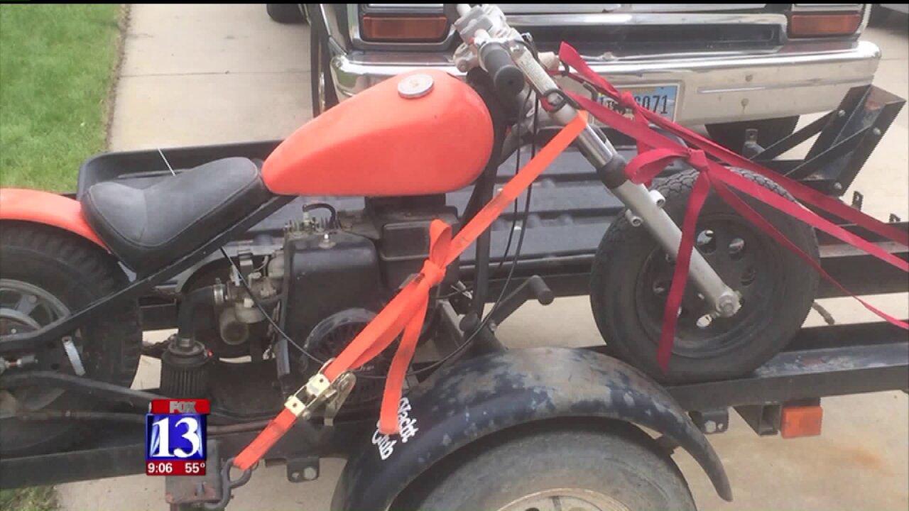 Social media helps bring stolen motorcyclehome