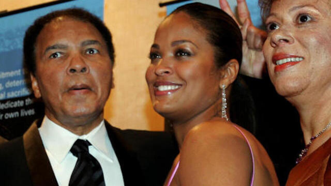 Laila Ali: My father is 'not suffering anymore'