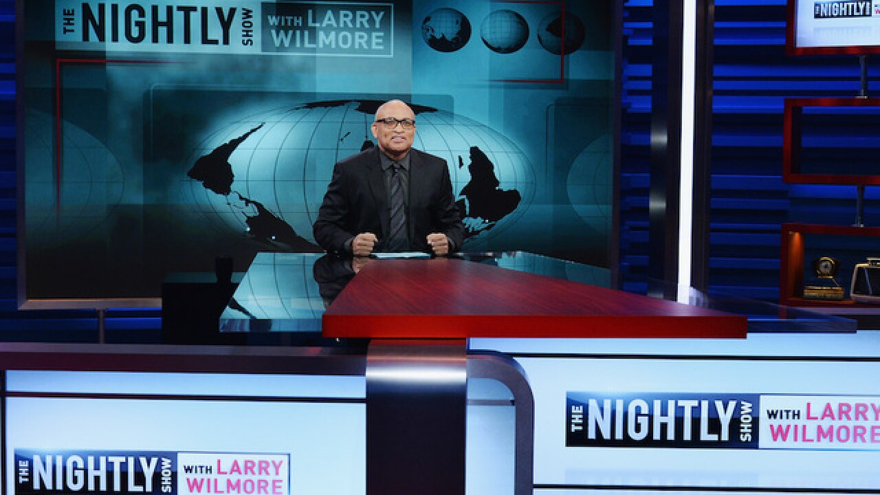 Larry Wilmore-hosted 'Nightly Show' axed by Comedy Central