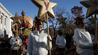 See photos from today's Macy's Thanksgiving Day Parade