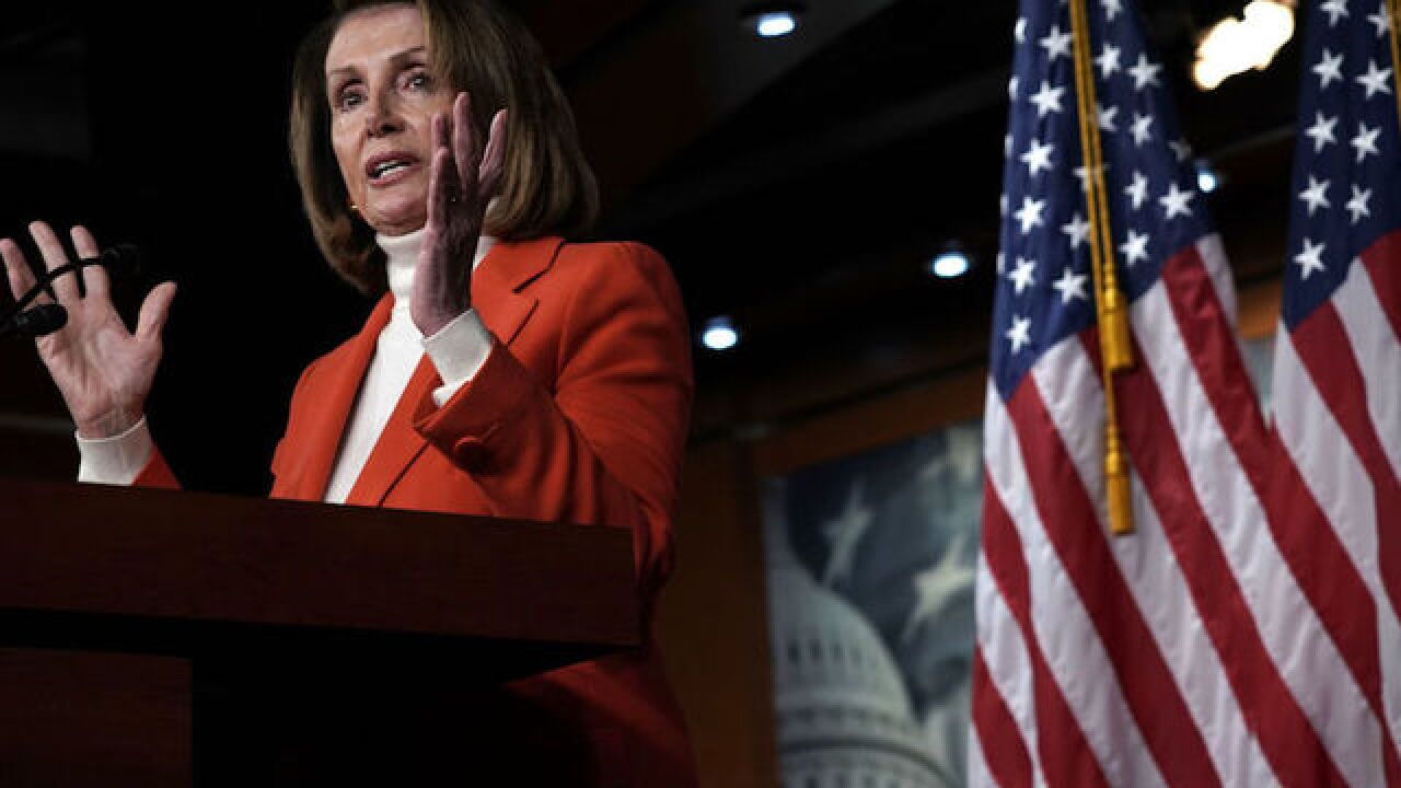 Democrats nominate Nancy Pelosi for House speaker