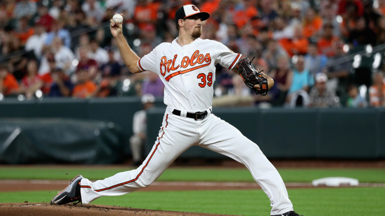 Gausman, Orioles agree to one-year contract to avoid arbitration