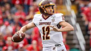 Central Michigan rolls past Northern Illinois to become bowl-eligible