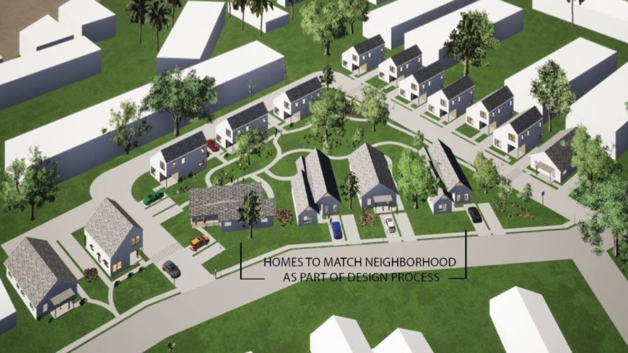 Plans underway to build an affordable housing community in city's southside