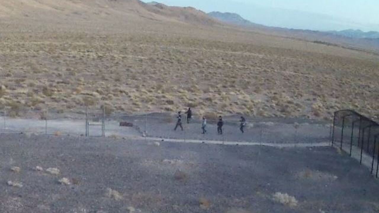 Park Service looking for Death Valley vandals
